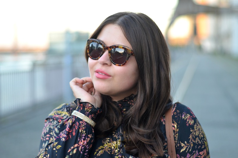 Herbstlook, Rebecca Minkoff Sonnenbrille,