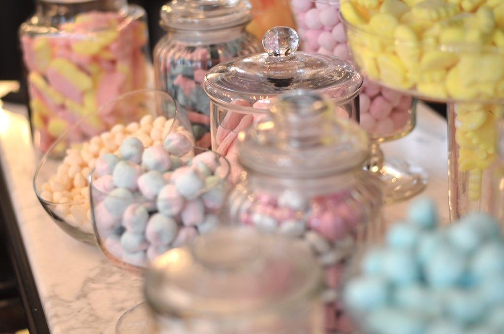 Candy Bar beim Grazia Pop Up Breakfast