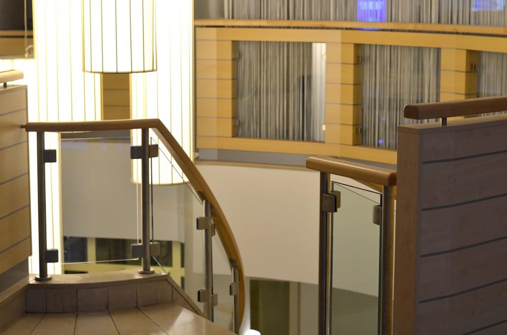 Eingang Spa Bereich Radisson Blu Hotel