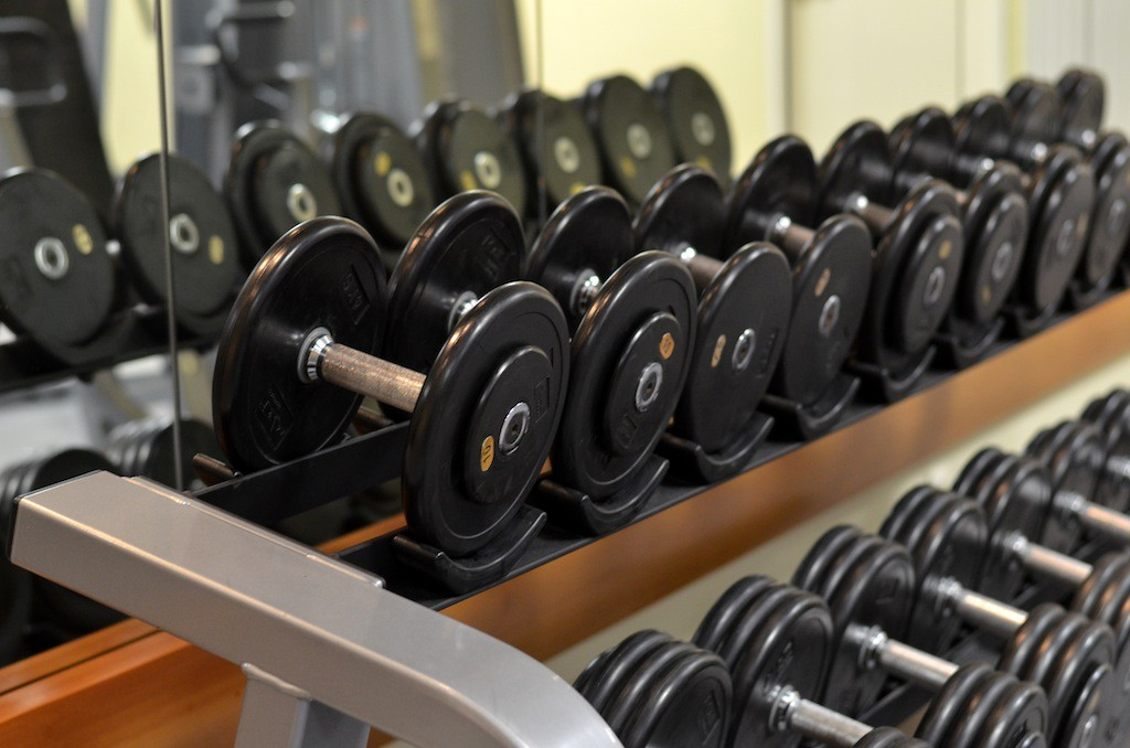 Fitness Bereich Radisson Blu Dortmund