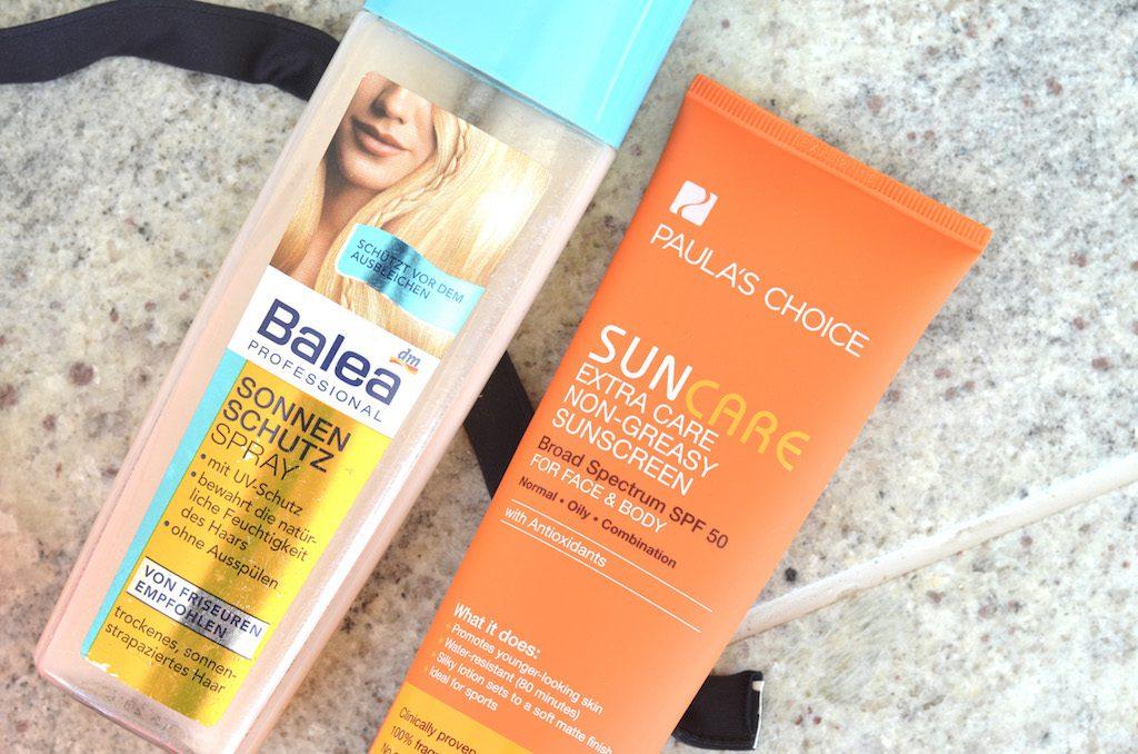 Freibad Essentials Sonnenschutz Haar