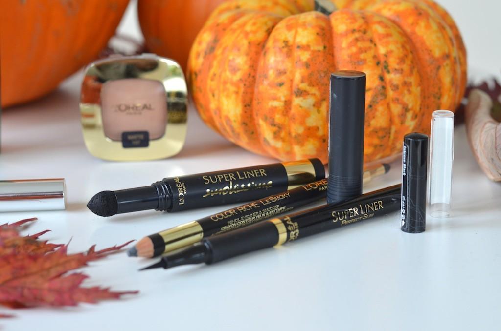Halloween Make-Up L'Oreal Eyeliner