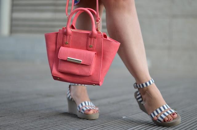 Outfit Jeansjacke Sommerkleid 4