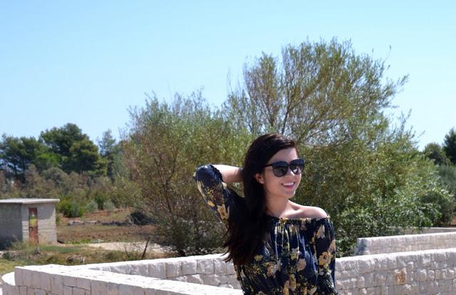Outfit Mediteranes Kleid 1