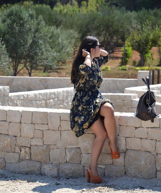 Outfit Mediteranes Kleid 2