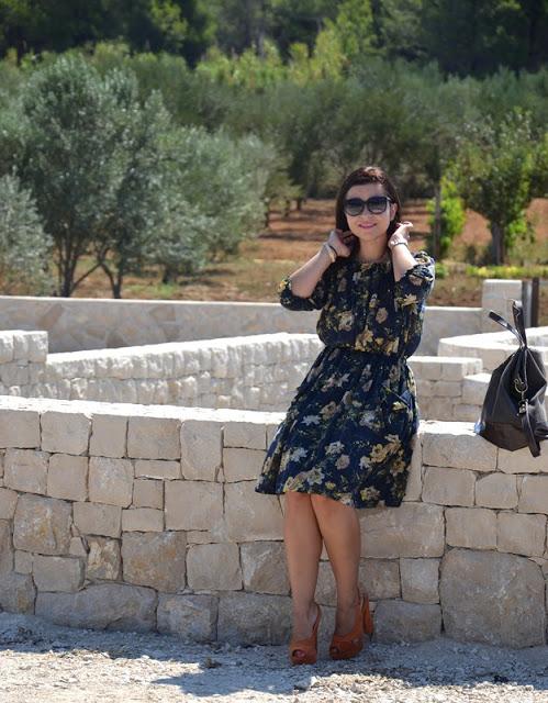 Outfit Mediteranes Kleid 3