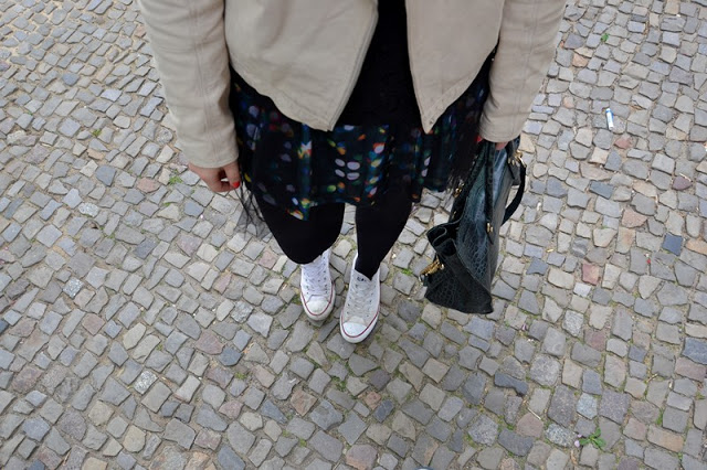 Outfit Tüllkleid