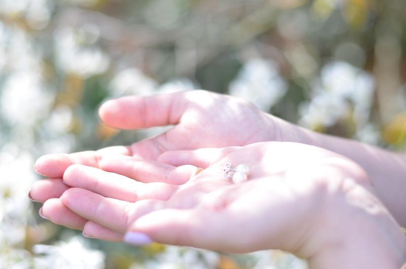 Perlen Ohrringe 03