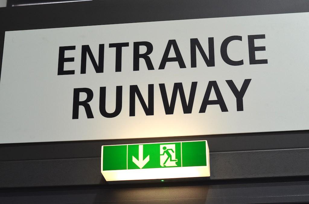 Platform Fashion Backstage Runway Entrance