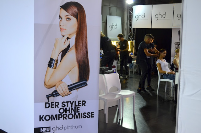 Platform Fashion Backstage with GHD
