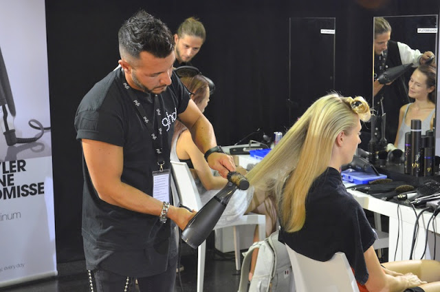 Platform Fashion Backstage with GHD 5