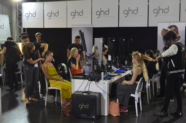 Platform Fashion Backstage with GHD 6