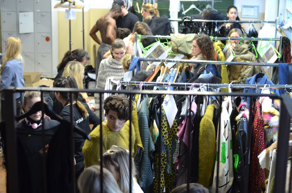 Platform Fashion backstage