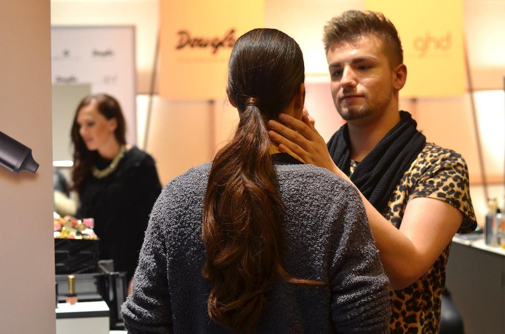 Platform Fashion backstage Douglas Make Up Artist