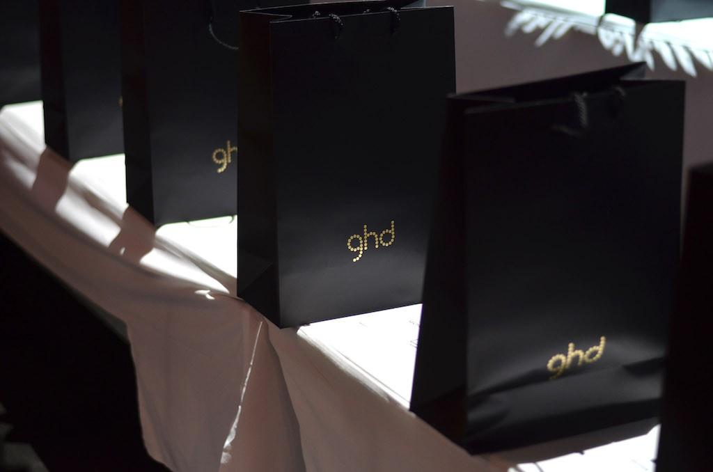 Platform Fashion backstage ghd Goodiebags