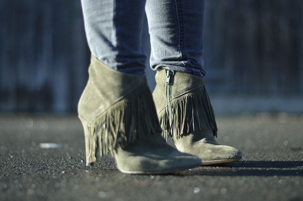 Sacha Booties with Fringes