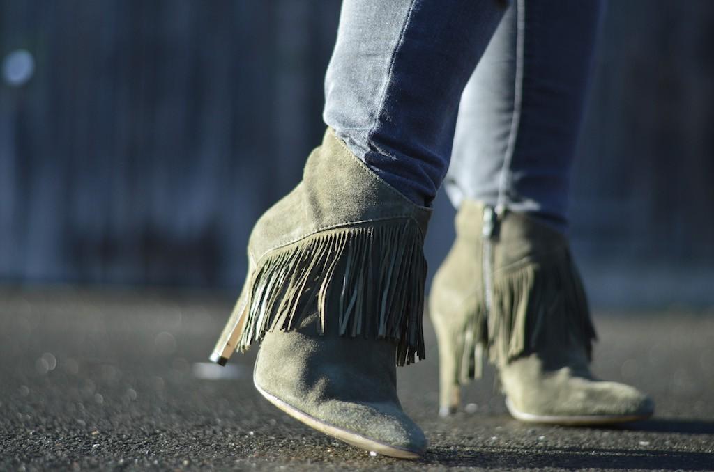 Sacha Fringe Boots