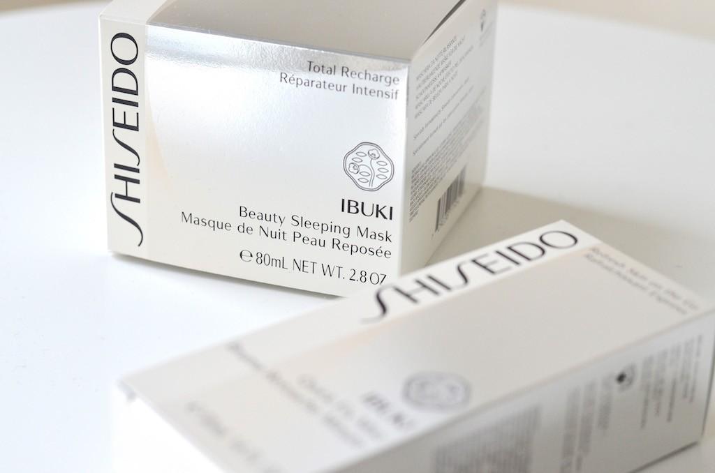 Shiseido IBUKI Neuheiten