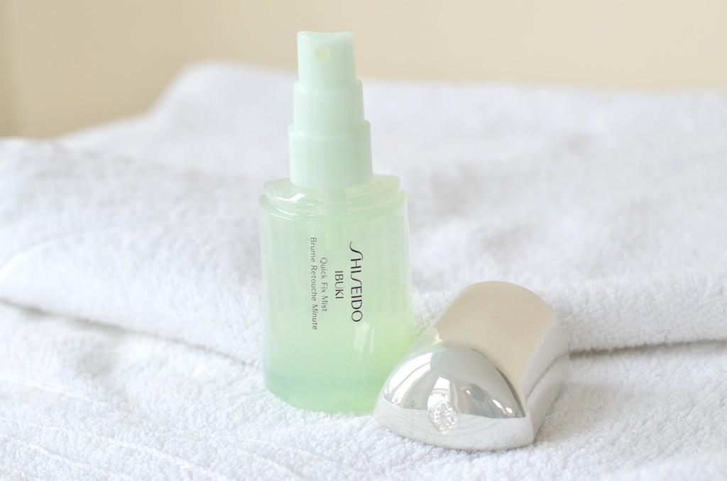 Shiseido IBUKI Quick Fix Mist Spray