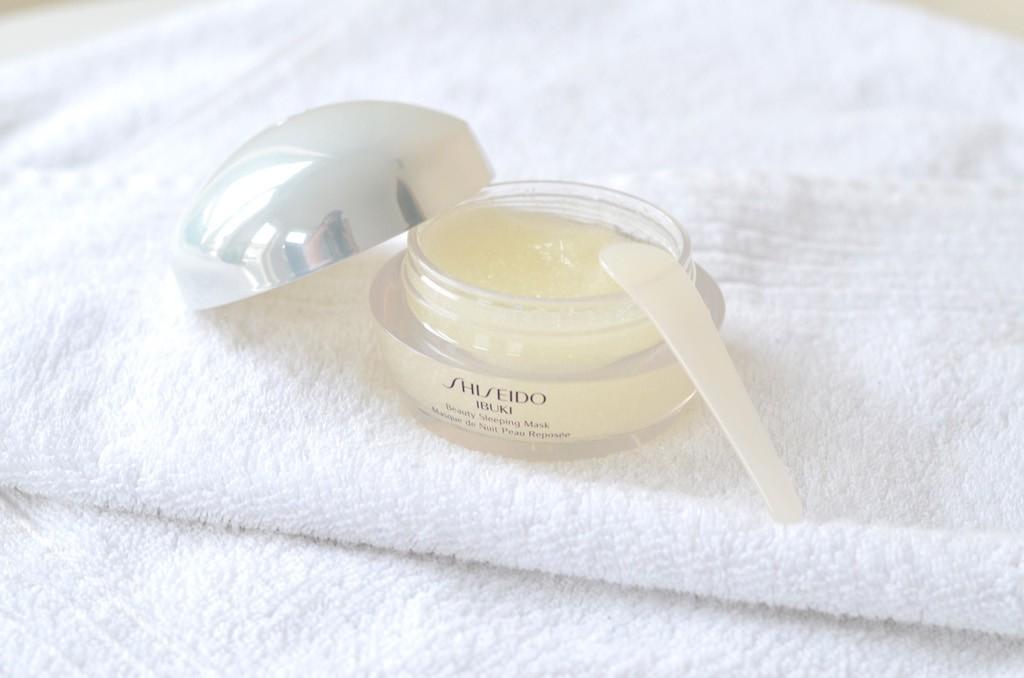 Shiseido IBUKI Sleeping Mask Textur