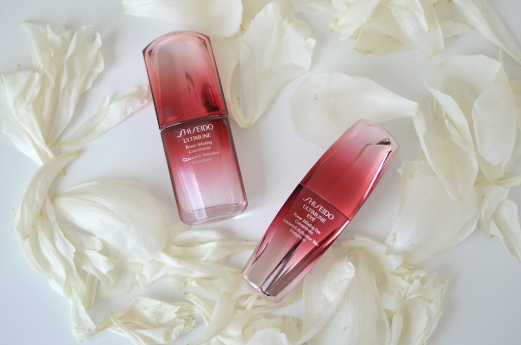 Shiseido Ultimune Concentrate und Eye