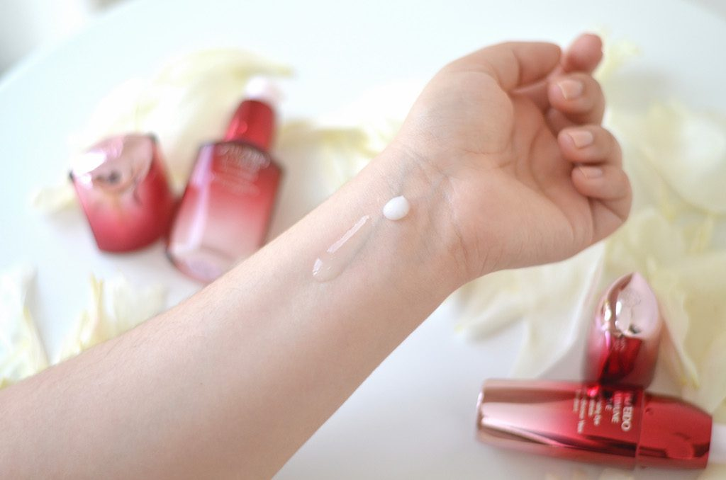 Shiseido Ultimune Swatches