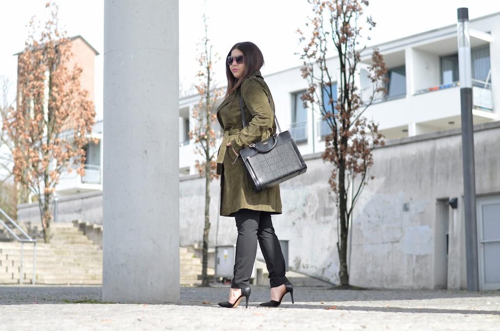 Spring Look mit Radley London Handtasche