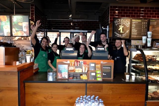 Starbucks Drive Through Düsseldorf
