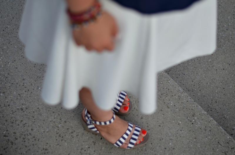 Striped Outfit Crocs Zara 03