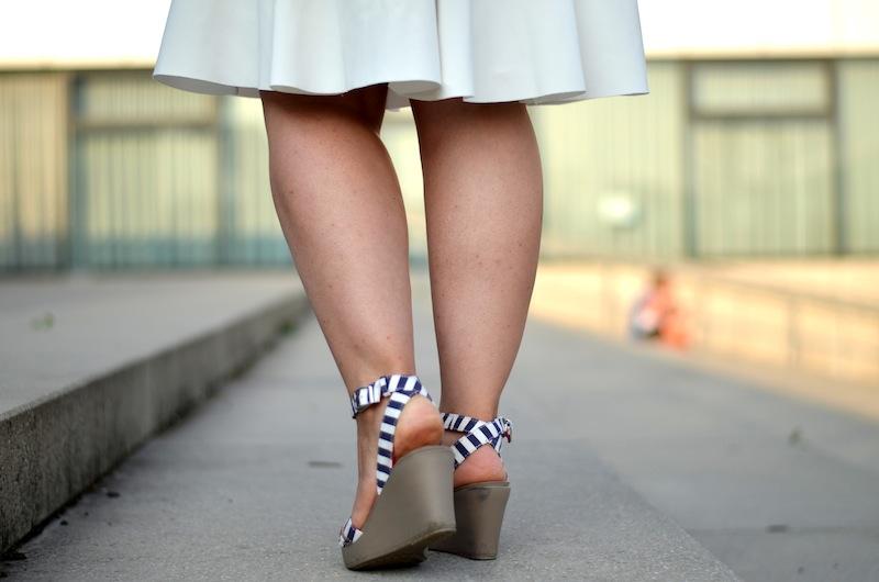 Striped Outfit Crocs Zara 04