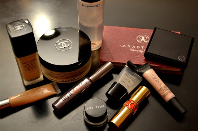 Tagesmakeup, Chanel, Clinique, YSL, Smashbox