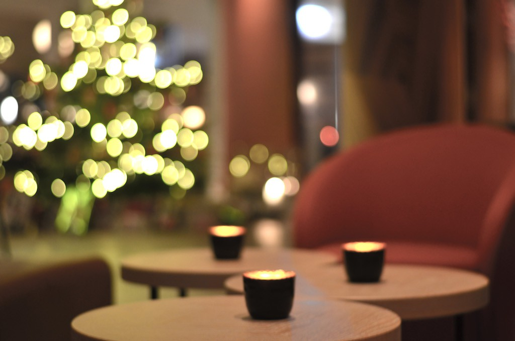 Weihnachtsdeko Aalernhüs hotel & spa
