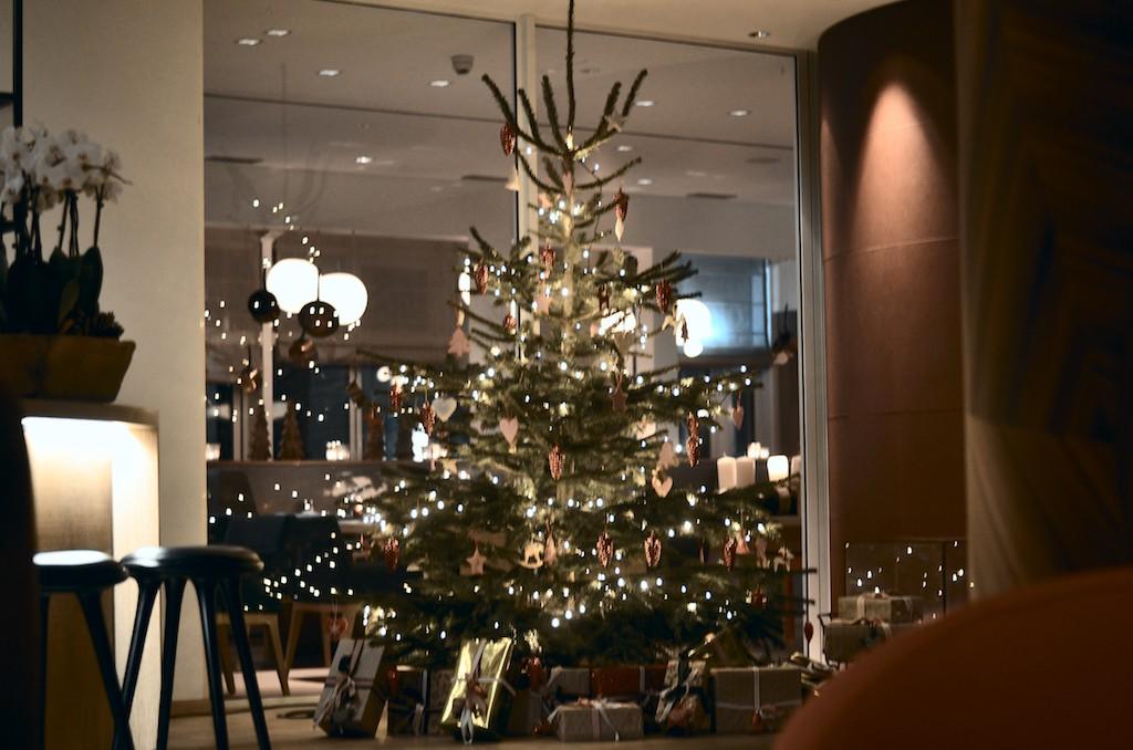 Weihnachtsdekoration Aalernhüs hotel & spa