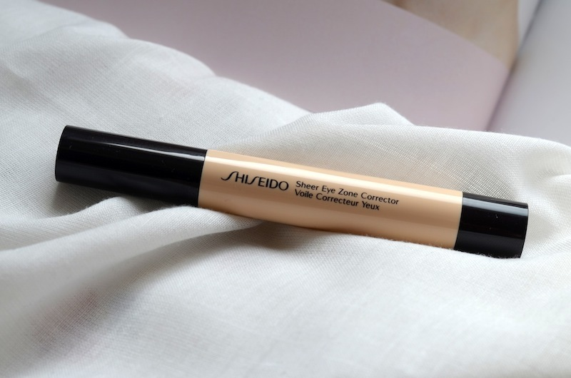 shiseido sheer eye zone corrector 01